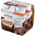 Resource 2.0 kcal Fibre Čokoládový por.sol.4x200m