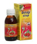 TOPVET Dětský sirup s příchutí lesní jahody a vitam. C 130 g