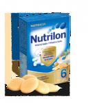 Nutrilon kaše Pronutra krupic. piškoty ml. 225g 6M