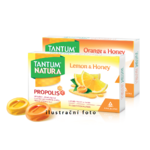 Tantum Natura Lemon&Honey 15 gumovych pastilek