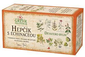 Grešík Devatero bylin Hepčík s echinaceou 20x1,5 g