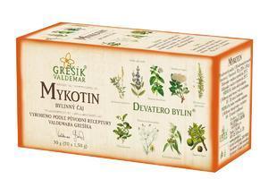 Grešík Devatero bylin Mykotin 20x1,5 g