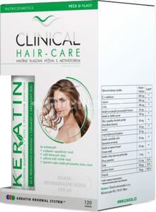Clinical Hair-care tob.120+ keratin 100ml (4 měsíční kúra)