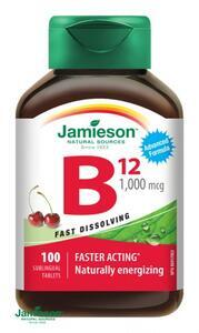 JAMIESON Vit.B12 1000mcg tresen tbl.100
