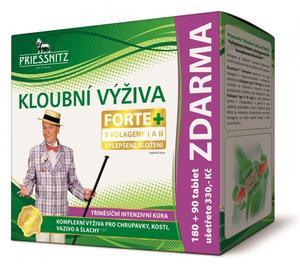 Priessnitz Kloubní výživa Forte+kolagen 180+90tbl