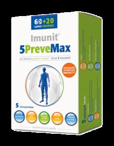 5PreveMax Imunit nukleotidy+betaglukan tbl.60+20