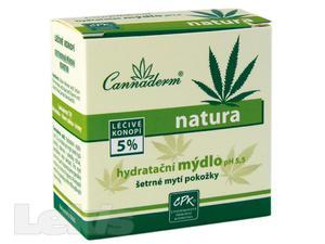 Cannaderm Natura hydratační mýdlo pH 5.5 100g