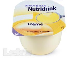 Nutridrink Creme s příchutí banánovou 4x125m
