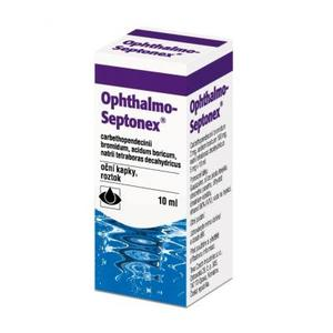 OPHTHALMO-SEPTONEX GTT OPH 1X10ML