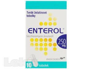 ENTEROL por cps dur10x250mg