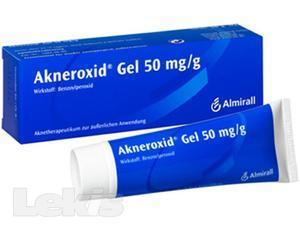 Akneroxid 5 gel 1x50g 5%