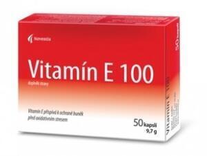 Vitamin E 100mg cps.50 (Noventis)