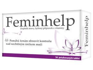Feminhelp - přípravek pro kontrolu úniku moči
