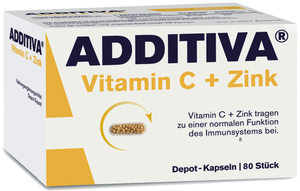 Additiva vitamin C se zinkem 80 ks