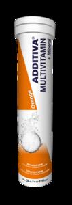 Additiva multivit.+mineral Pomeranč  20 ks