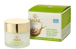 OLIVIE Snail Pleťový krém proti stárnutí 60 ml (Šnečí sliz)