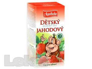 Apotheke Detsky ovocny caj jahodovy 20x2g