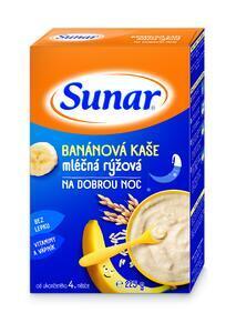 Sunar banánová kašička na dobrou noc mléčná 225g