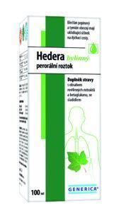 Hedera bylinný perorální roztok 100 ml Generica