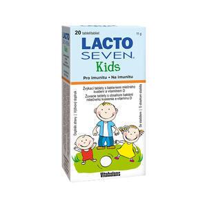 Vitabalans LactoSeven Kids tbl. 20