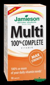 JAMIESON Multi COMPLETE Maximální síla tbl.90