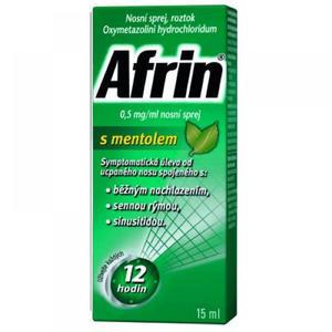 Afrin nosní sprej s mentholem 15 ml