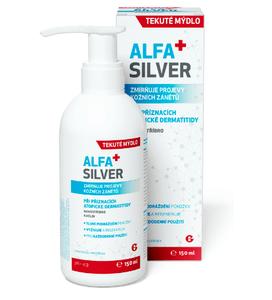 ALFASILVER tekuté mýdlo 150ml