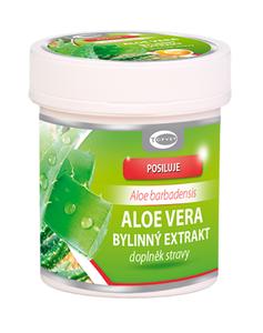 TOPVET Aloe vera bylinný extrakt 60 cps.