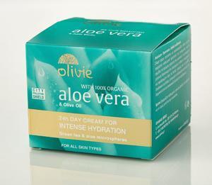 OLIVIE Aloe vera 24h denní oleťový krém pro intenzivní hydrataci 50 ml - 1