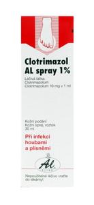 CLOTRIMAZOL AL SPRAY 1% spr 1x30ml 1%