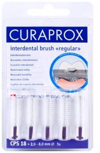 CURAPROX CPS18 regular mezizub.kart. 5ks blister - 1