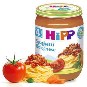 HiPP BABY BIO Špagety v boloňské omáčce 6x190g