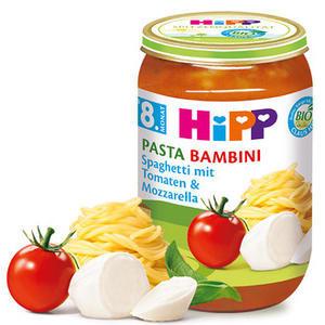 HiPP JUNIOR BIO Rajčata se špagetami a mozzarelou 6x220g