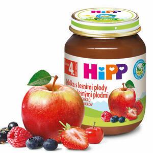 HiPP OVOCE BIO Jablka s lesními plody 6x125g