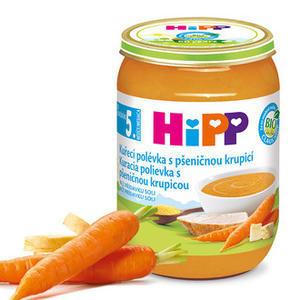 HiPP POLÉVKY BIO Kuřecí s pšeničnou krupicí 6x190g