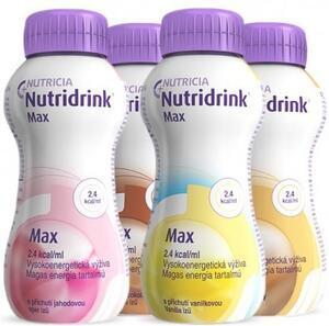 Nutridrink Max s příchutí kávy por.sol.4x300ml
