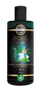 TOPVET Energy sport chladivý v mandlovém oleji 200 ml