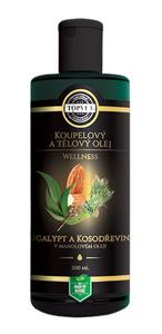 TOPVET Eukalypt a kosodřevina v mandlovém oleji 200 ml