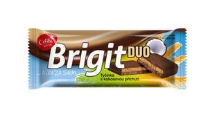 Brigit DUO tyčinka se sójou a kokosem 50g