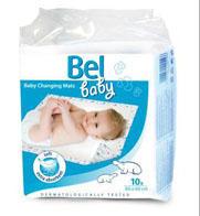 BEL Baby podlozka na prebalovani 60x60cm/10ks