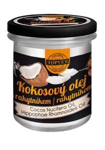 TOPVET Kokosový olej + rakytník 250 ml
