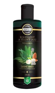TOPVET Lesní směs v mandlovém oleji 200 ml
