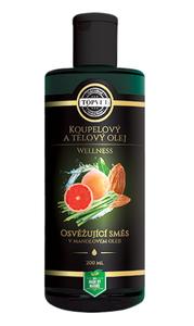 TOPVET Osvěžující směs v mandlovém oleji 200 ml