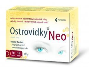 Ostrovidky Neo-akční balení cps.30+15 (Noventis)