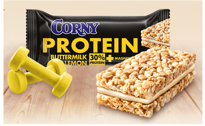 Corny Protein Buttermilk - Lemon 35g