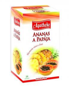Apotheke Ananas a papája 20x2g