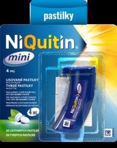 NIQUITIN MINI 4 MG ORM PAS CMP 20X4MG