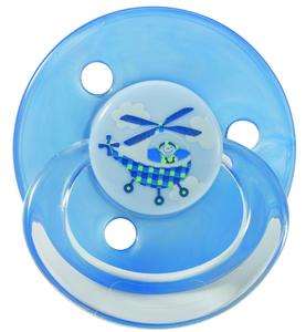 BABY NOVA Dudlík latex kulatý dekor 23361 - 3